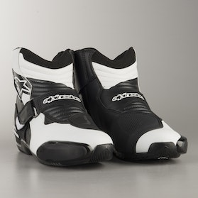 Alpinestars SMX-1 R MC-Boots - Black-White