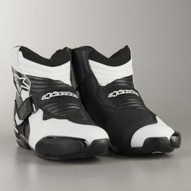 Buty MC Alpinestars SMX-1 R Vented Czarno-Białe