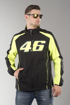 VR46 Valentino Rossi Jacket Black