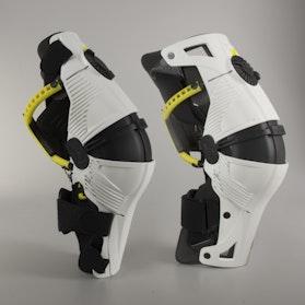 Ortezy Kolanowe Mobius X8 Biało-Żółte
