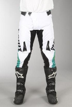 Spodnie Cross Circuit Oceano Biało-Zielone