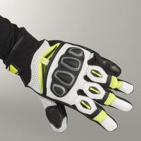 Rękawice Richa Turbo Czarno-Fluorescencyjno Żółte