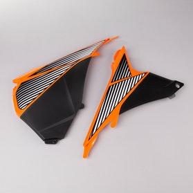 Polisport Air Box Plastic Part Orange-Black