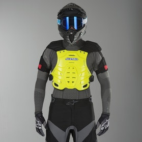 Acerbis Robot Chest Protector Yellow 2