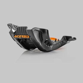 Acerbis Skid Plate Black-Orange