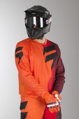 Bluza Cross Shift Whit3 Tarmac Pomarańczowa MX 18