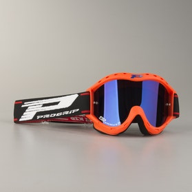 ProGrip 3101 Youth Cross-Goggles Double Lens - Flourescent Orange