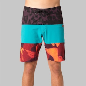 Fox Camino Stacker Board Shorts Aqua