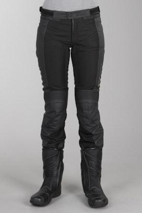 Revit skórzane spodnie Gear 2 czarne damskie