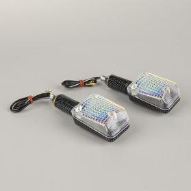 Mini Kierunkowskazy Booster R.A.W Carbon Smoke Długie