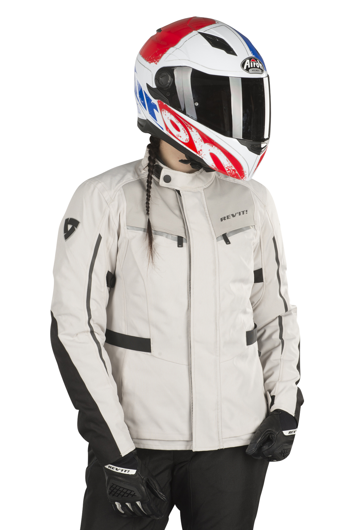 FJT257-1010-XL Rev It Voltiac 2 Motorcycle Jacket XL Black