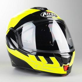 Helma Airoh Rev 19 Fusion Leskle Neonově Žluto-Černá