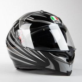 Kask Motocyklowy AGV K-5 S  Czarny Srebrny