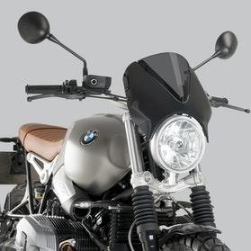 Owiewka Puig Retrovision BMW Czarna-Ciemna Przydymiona