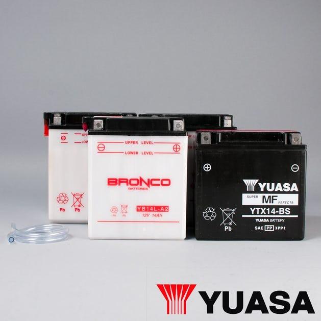 MC Baterie Yuasa Vysoký efekt MF •Vyberte baterii v nabídce•