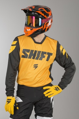 Bluza Cross Shift Whit3 Ninety Seven Żółta MX 18