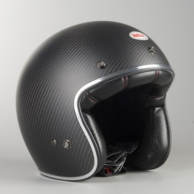 Kask BELL CUST 500 CARB SOLID Czarny Matowy