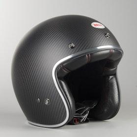 Hjelm Bell Custom 500 Carbon Solid, Matsort