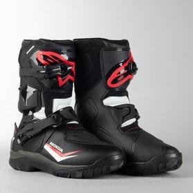 Alpinestars Belize Drystar Honda MC Shoes Black-White-Red