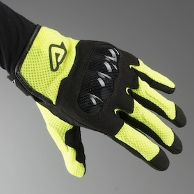 Acerbis Ramsey My Vented Gloves Black-Yellow