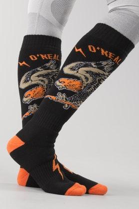 Skarpety O'Neal Pro MX Eagle Czarno-Pomarańczowe