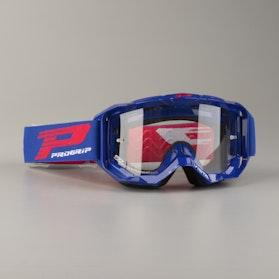 Briller ProGrip 3303 Vista flerlags, Klart Glas, Blå/Rød