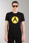 T-Shirt Alias Circled Czarny 73