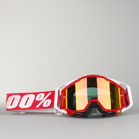 100% Racecraft Fire Goggles Red