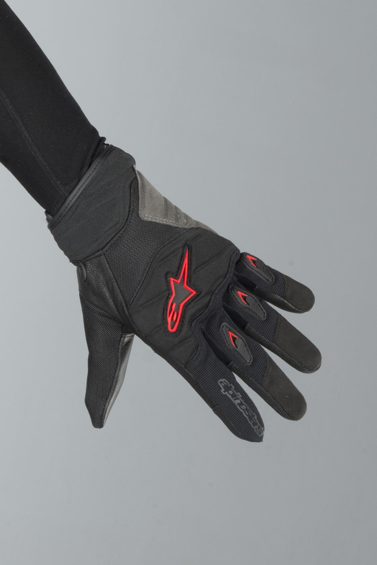 S Black Motorcycle gloves Alpinestars Shore Gloves Black