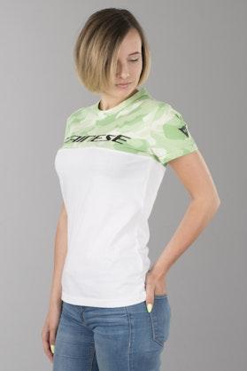 T-Shirt Dainese Damski Moro-Biały