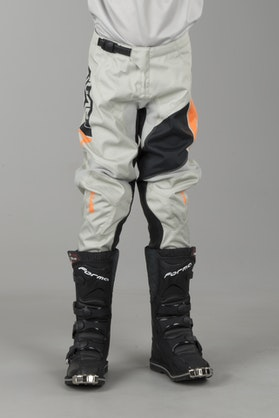 Alias Youth A2 Sidestacked Pants Grey-Orange