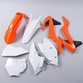Komplet plastików Rtech Pomarańczowo-Biały
