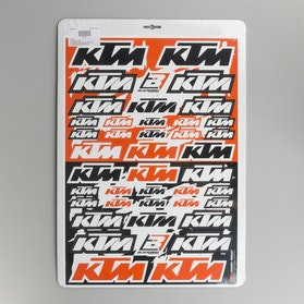 Blackbird PVC Decal Sheet KTM