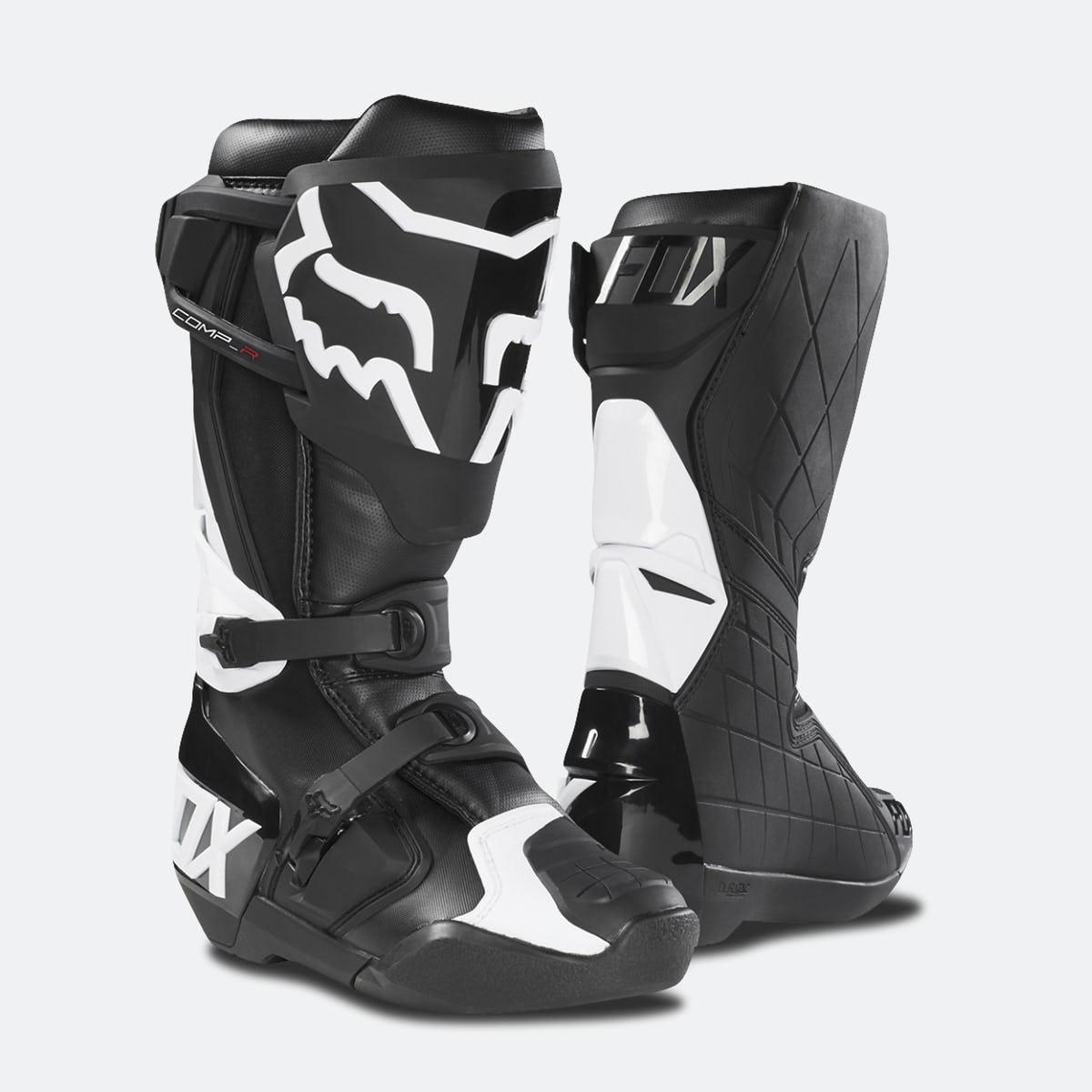 Fox Comp R MX Boots Black