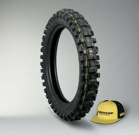 Dunlop Geomax MX31 Tyre + Cap