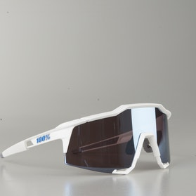 100% Speedcraft Bicycle Glasses White
