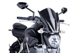 Owiewka uig New Generation Touring Yamaha MT07 Czarna