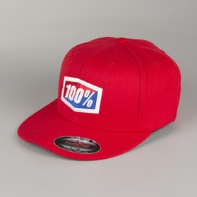 100% Essential Cap Red