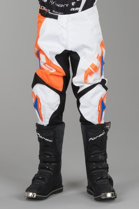 Alias A1 Floated Junior MX Trousers Orange-White-Blue