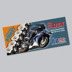 Łańcuch CZ DZX 525 X-Ring