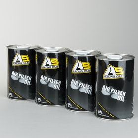 Luftfilterolie A9 Racing 1L 4-Pack
