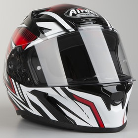 Kask Airoh Valor Conquer Czerwony