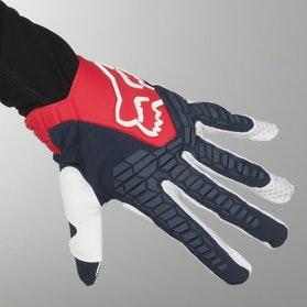 Rękawice Cross Fox Pawtector Granatowo-Czerwone MX 18