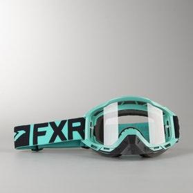Gogle Cross FXR Boost Clear Miętowo-Czarne