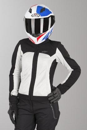 Alpinestars Eloise Air Womens Jacket - Black-Light Grey