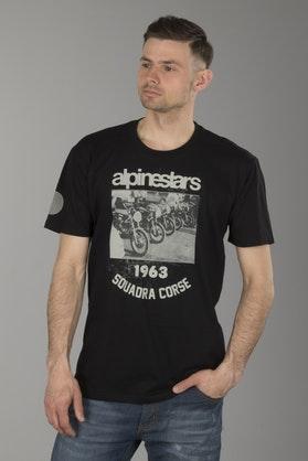 T-Shirt Alpinestars Crew Czarny