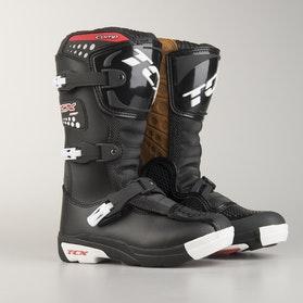 Buty dziecięce cross TCX Comp, czarne