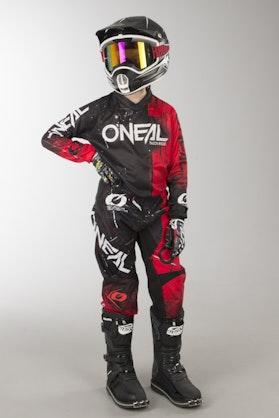Komplet Dziecięcy Cross O'Neal Element Shred Czerwony