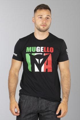 T-Shirt Dainese Mugello D1 Czarny