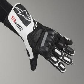 MC-handsker Alpinestars SP-8 V2 Lysegrå